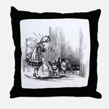 Following Home Throw Pillow