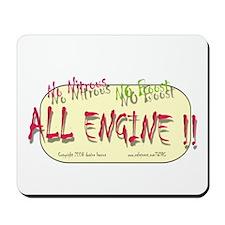 ALL ENGINE 2 Mousepad