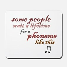 a phoneme like this Mousepad