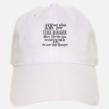 Ask Not Stage Manager Baseball Baseball Cap