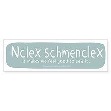 NCLEX Nursing Board Exam Bumper Bumper Sticker