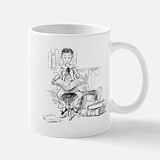 Little reader, big book Mug