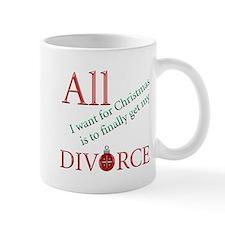Christmas Divorce Small Mug