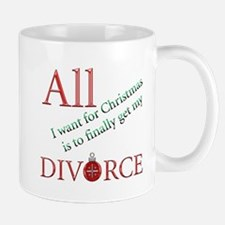 Christmas Divorce Small Small Mug