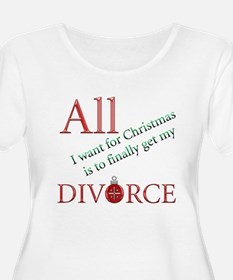 Christmas Divorce T-Shirt