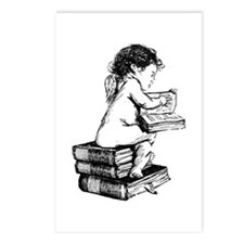 Cherub on Books Postcards (Package of 8)
