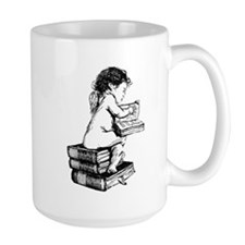 Cherub on Books Mug