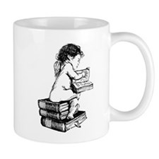 Cherub on Books Mug