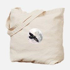 Flying Crow Tote Bag