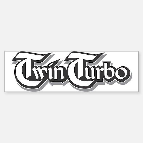 Twin Turbo Bumper Stickers