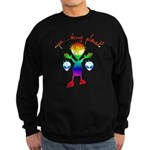 Wrong Planet Alien Sweatshirt (dark)