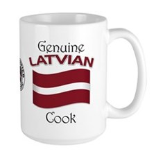Genuine Latvian Cook Mug