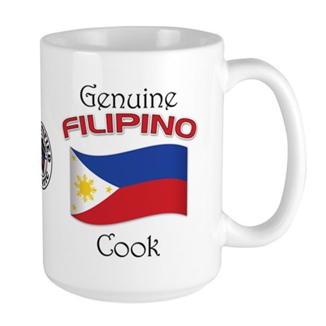 Genuine Filipino Cook Large Mug