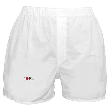 I <3 Pho Boxer Shorts