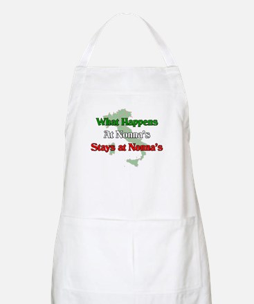 What Happens at Nonna's Stays at Nonna's BBQ Apron