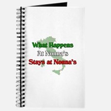 What Happens at Nonna's Stays at Nonna's Journal