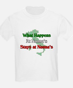 What Happens at Nonna's Stays at Nonna's T-Shirt
