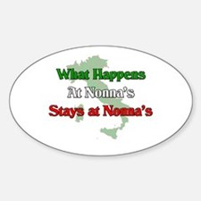 What Happens at Nonna's Stays at Nonna's Decal