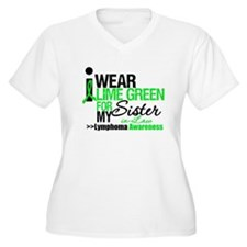 I Wear Lime Green SIL T-Shirt