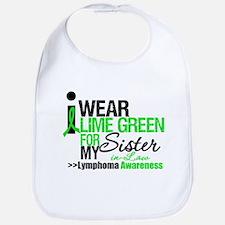I Wear Lime Green SIL Bib
