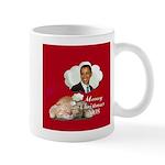 Obama Christmas Mug
