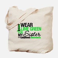I Wear Lime Green For Sister Tote Bag