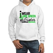 I Wear Lime Green For Sister Hoodie