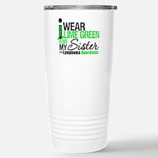 I Wear Lime Green For Sister Travel Mug