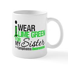 I Wear Lime Green For Sister Mug