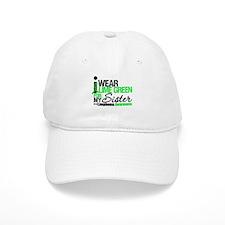 I Wear Lime Green For Sister Baseball Baseball Cap