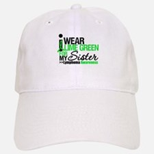 I Wear Lime Green For Sister Baseball Baseball Cap