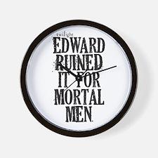 Funny Twilight men Wall Clock