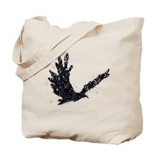 Flying CROW collage Tote Bag