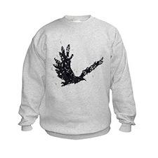 Flying CROW collage Sweatshirt