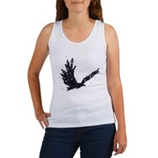 Flying CROW collage Women's Tank Top