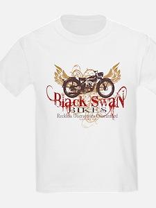 3-Black Swan Bikes T-Shirt