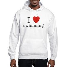 I Heart Swimming Hoodie