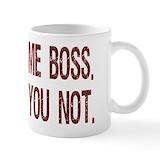 Funny boss Small Mugs (11 oz)