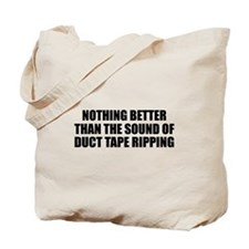 Ripping Duct Tape Tote Bag