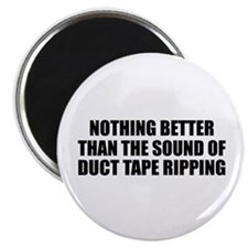 """Ripping Duct Tape 2.25"""" Magnet (100 pack)"""