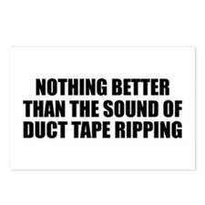 Ripping Duct Tape Postcards (Package of 8)