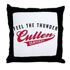 Cute Cullen baseball Throw Pillow