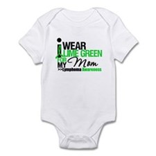 I Wear Lime Green For My Mom Infant Bodysuit