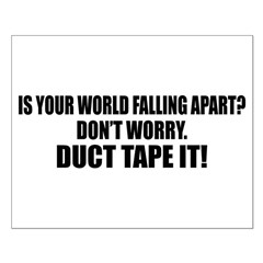 Fix World With Tape Posters