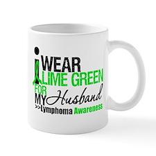 I Wear Lime Green For My Husband Mug