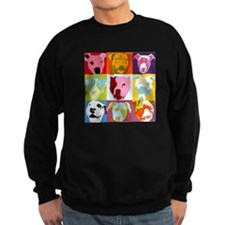 Cool Pit bull Sweatshirt