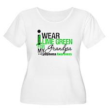 I Wear Lime Green Grandpa T-Shirt