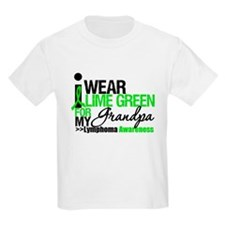I Wear Lime Green Grandpa T-Shirt