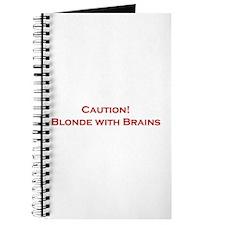 Blonde With Brains Journal