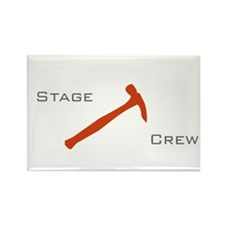 Back stage crew Rectangle Magnet